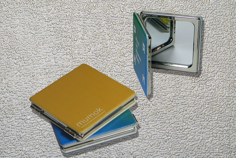 PU SQUARE 2 SIDED MIRROR