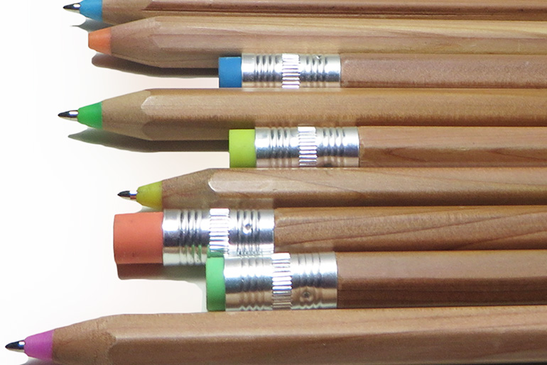 Color wooden pen 2