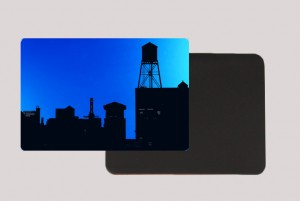BROOKLYN WATER TOWER BLUE MAGNET