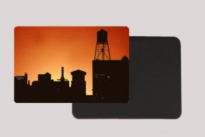 BROOKLYN WATER TOWER ORANGE MAGNET