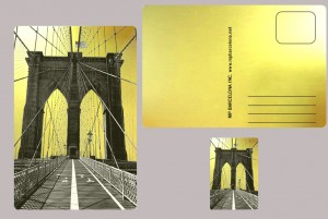Brooklyn, bridge  gold