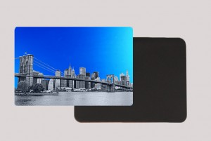 DOWTOWN BLUE MAGNET