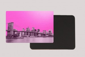 DOWTOWN PINK MAGNET