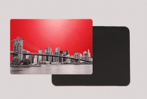 DOWTOWN RED MAGNET