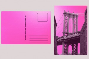 DUMBO BROOKLYN PINK