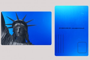 STATUE OF LIBERTY BLUE