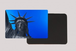 STATUE OF LIBERTY BLUE MAGNET