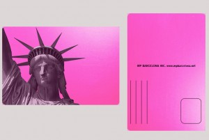 STATUE OF LIBERTY PINK