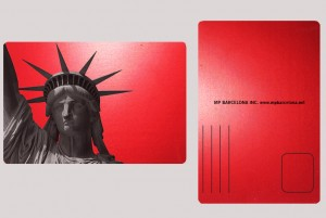 STATUE OF LIBERTY RED